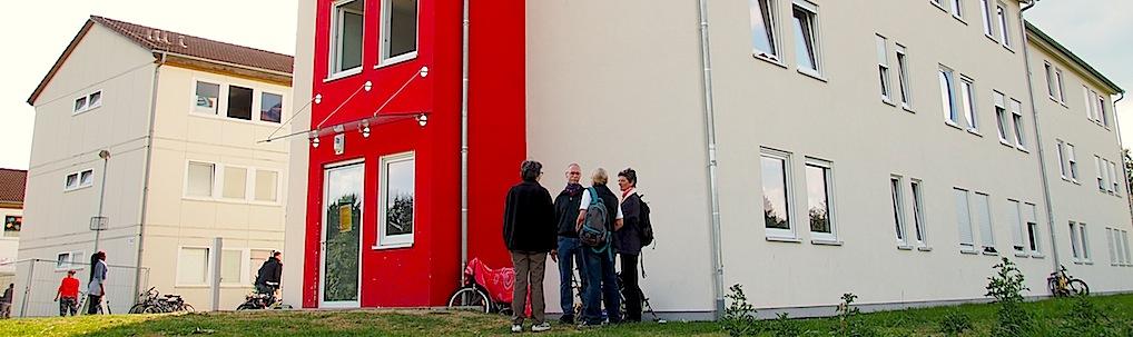 Flüchtlingsdorf Stuttgart Heumaden Kirchheimer Str. 142-146